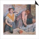 The Laundresses Prints by Edgar Degas