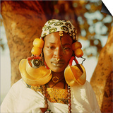 A Fulah Woman Photographed at Mopti Art