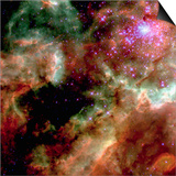 Cluster in Large Magellanic Cloud Prints