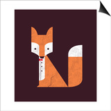 The Sly Fox Prints by Budi Kwan