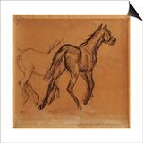 Horses, C.1882 Posters by Edgar Degas