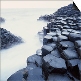 Basalt Columns on Coast Posters by Micha Pawlitzki