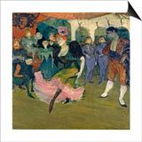 Marcelle Lender Dancing the Bolero in 'Chilperic', 1895 Láminas por Henri de Toulouse-Lautrec