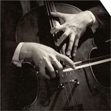 Mstislav Rostropovich's Hands Posters by Lotte Meitner-Graf