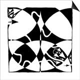 A Rorschach Maze Prints by Yonatan Frimer