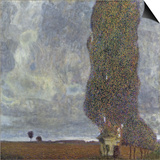 A Gathering Storm (The Grand Aspen II) Posters by Gustav Klimt