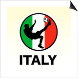 Italy Soccer Art