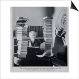 Agatha Christie, the Woman and Her Mysteries at Winterbrook House Prints by  English Photographer