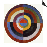 First Disc Posters by Robert Delaunay