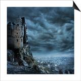 Castle Art by  egal