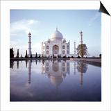 The Taj Mahal Posters