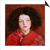 The Irish Girl Print by Ford Madox Brown