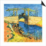 Le Pont De Langlois a Arles, 1888 Poster by Vincent van Gogh