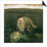 John Bauer - A Forest Troll, c.1913 - Poster