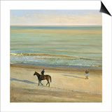 Beach Dialogue, Dunwich Posters by Timothy Easton