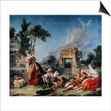 Fountain of Love, 1748 Posters by Francois Boucher