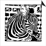 Learn to a Maze Z is for Zebra Posters by Yonatan Frimer