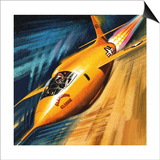 Breaking the Sound Barrier Posters by Wilf Hardy