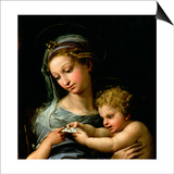 Detail of The Virgin of the Rose Posters par  Raphael