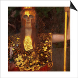 Minerva or Pallas Athena Prints by Gustav Klimt