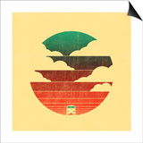 Go West Print by Budi Kwan