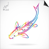 A Carp Koi Prints by  yod67