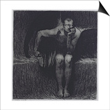 Lucifer Prints by Franz von Stuck