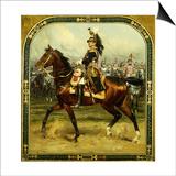Le General d'Hautpoul a Cheval, 1912 Prints by Jean-Baptiste Edouard Detaille
