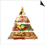 Food Pyramid Plakater af egal