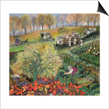 George's Allotment Prints by Lisa Graa Jensen
