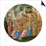 The Adoration of the Magi, C.1440-60 Posters by  Fra Angelico