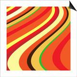 Retro Wave Pattern Prints