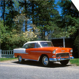1955 Bel Air Chevrolet Automobile Prints