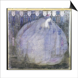 The Mysterious Garden, 1911 Poster by Margaret MacDonald