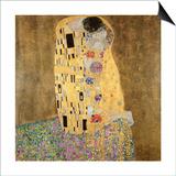 El beso, 1907-08 Lámina por Gustav Klimt