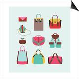 3 Bags Print by  yemelianova