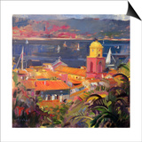 St Tropez Sailing, 2002 Prints by Peter Graham