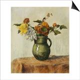 Vase of Flowers; Vase de Fleurs, c.1900 Prints by Paul Ranson