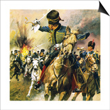 The Valley of Death - the Charge of the Light Brigade Posters by  English School