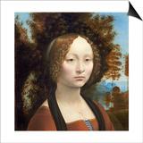 Ginevra De' Benci, C. 1474- 78 Posters by  Leonardo da Vinci