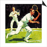 King George Vi Played in the Men's Doubles at Wimbledon in 1926 Posters by  McConnell