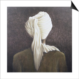 White Turban, 2005 Prints by Lincoln Seligman