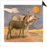 Donkeys, 1989 Prints by Antonio Ciccone
