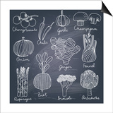 Tasty Vegetables Poster by  smilewithjul