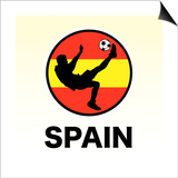 Spain Soccer Prints