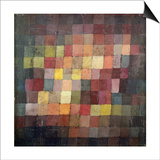 Ældgammel harmoni, 1925 Kunst af Paul Klee