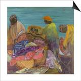 Sorting the Catch, Zanzibar Prints by Kate Yates