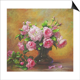 Roses of Sweet Scent and Velvet Touch Prints by Albert Williams