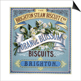 Orange Blossom Biscuits Advertisement Print