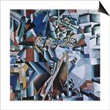 The Knife Grinder, 1912-13 Posters af Kasimir Malevich